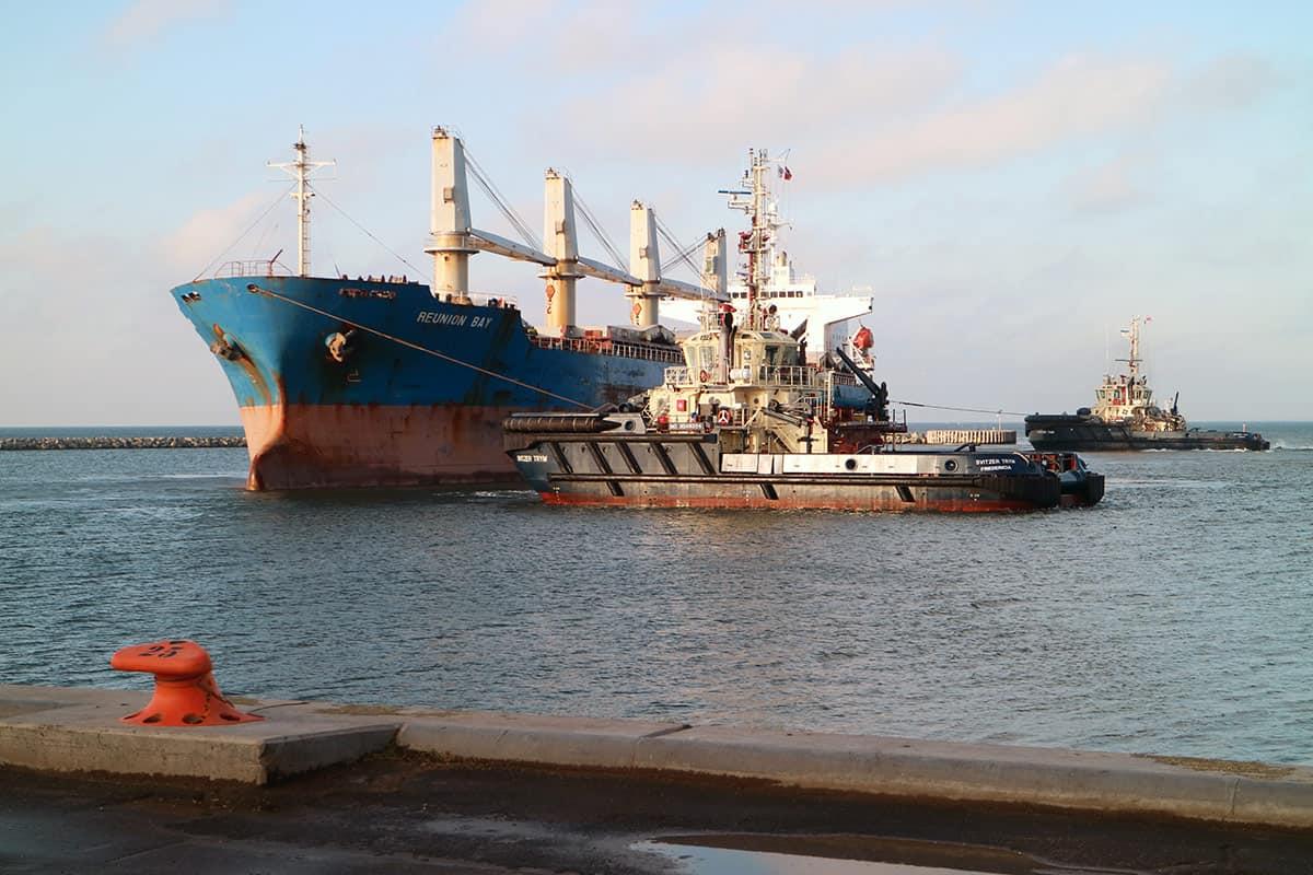 Det første store skib anløber Vordingborg Havn fredag formiddag – 177 meter langt