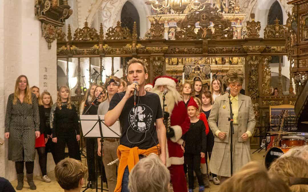 Propfyldt Vordingborg Kirke til Musikskolens Julekoncert – koncert igen tirsdag i Stege