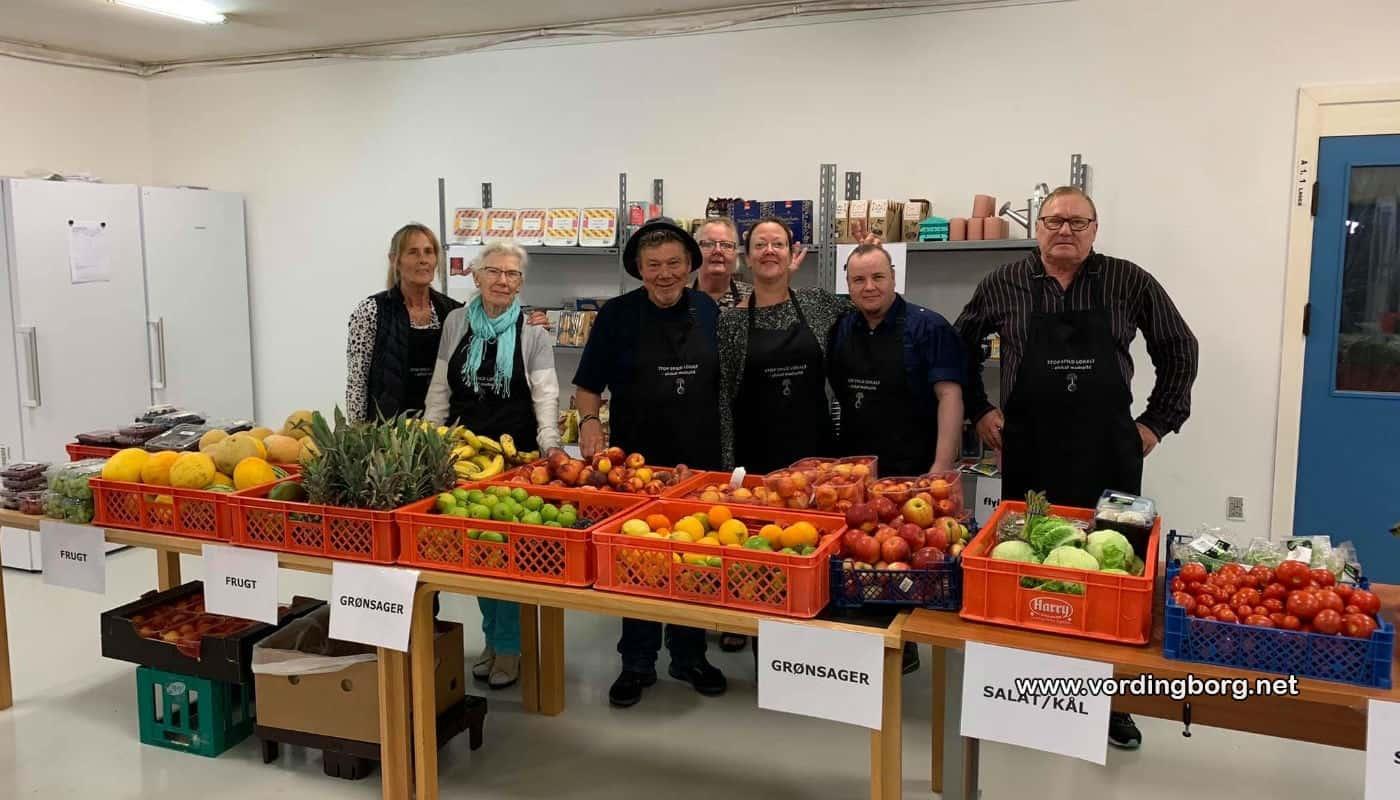 Lokal forening deler mad ud til jul
