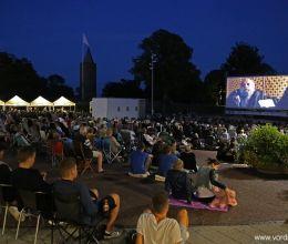 الفيلم المفتوح في Slotstorvet Vordingborg - 23 يوليو 2014