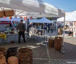 السوق في Algade في Vordingborg
