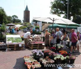 Lørdagsmarked på Slotstorvet Vordingborg